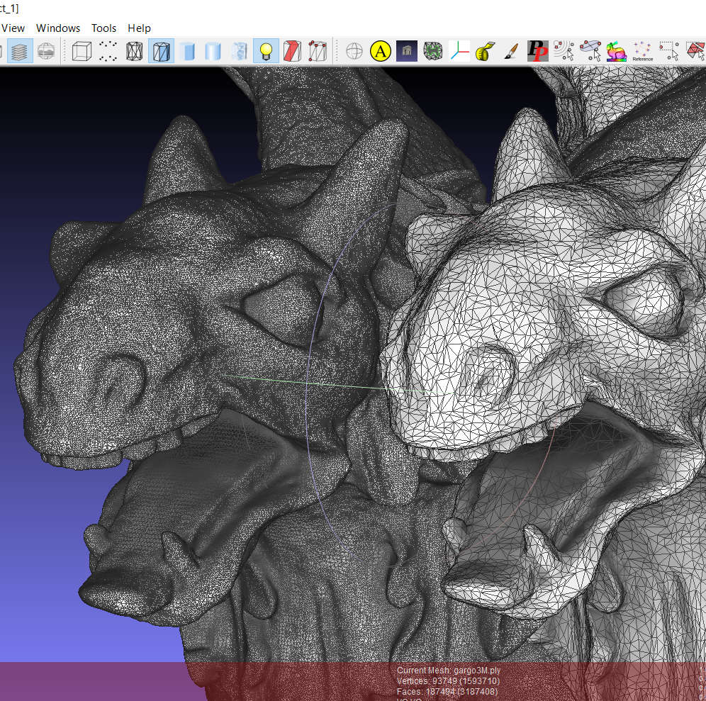 Open3d Point Cloud To Mesh